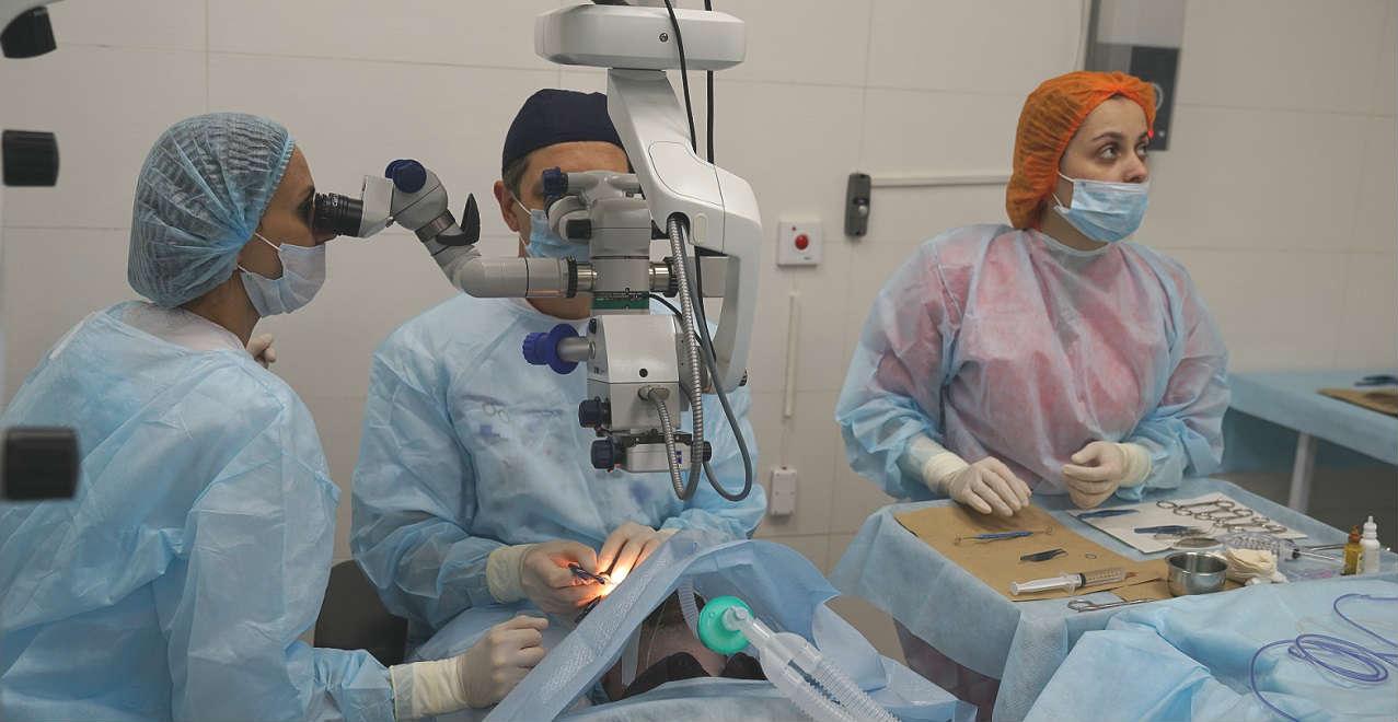 Операция при кератоконусе - цена в Москве